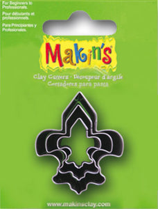 Makin's USA Fleur De Lis Cookie Cutters