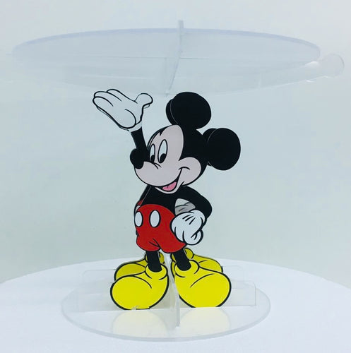 Micky Mouse Acrylic Cake stand