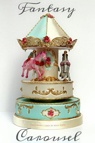 THE FANTASY CAROUSEL CAKE- DIY kit