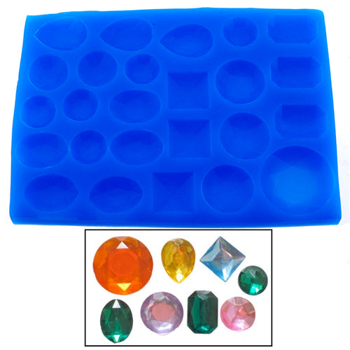 Jewel/Gem Shape Silicone Mould