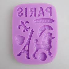 Paris Silicone Mould