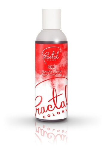 RED - FRACTAL FLOWAIR LIQUID COLORS - 100ML