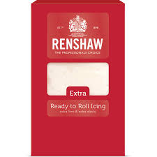 RENSHAW Extra Ready to Roll Icing 1kg