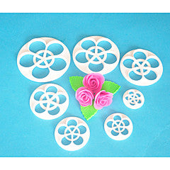 6 Piece Rose cutter Set