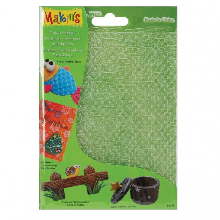 MAKIN'S-Clay Texture Sheet Set D