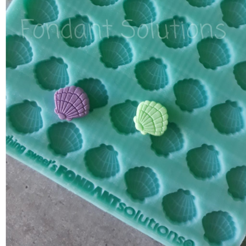 Shells- Fon-Fetti  Silicone Mould