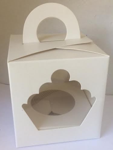 SINGLE CUPCAKE BOX WITH INSERT