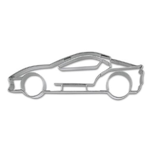 SPORTS CAR WITH EMBOSSED DETAIL COOKIE CUTTER