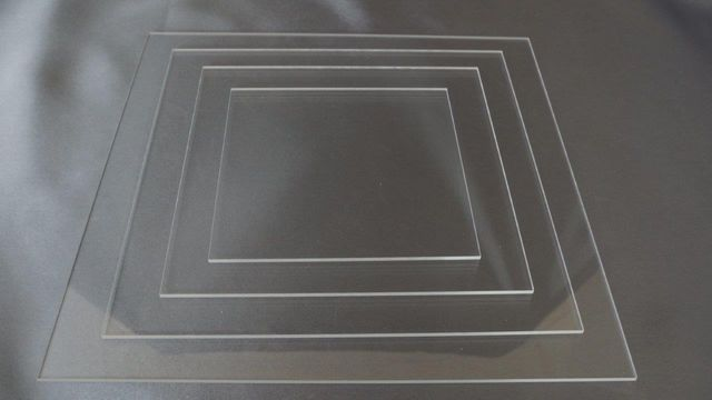 "10"" Ganaching Plate Square Acrylic Board"