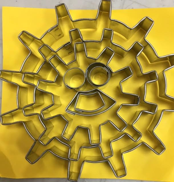 Steam Punk / Gear Cookie Cutter- Set1