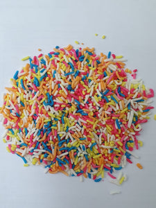 Coloured Sugar Strands  Cake Sprinkles  100gram