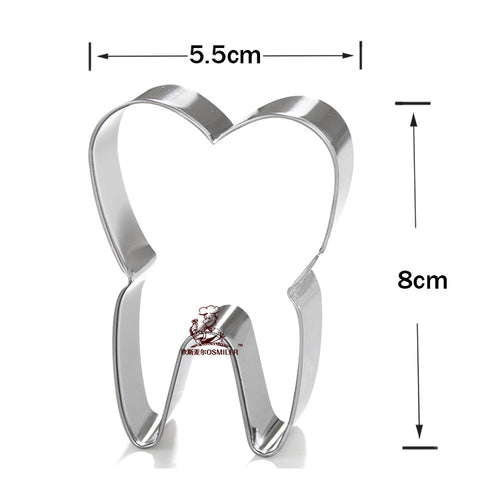 Tooth Stainless Steel Cookie Cutter