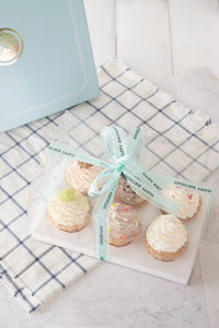 Clear cupcake box (6 Hold)