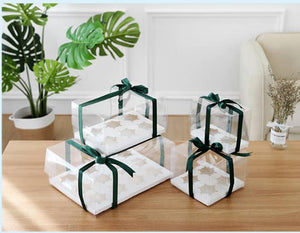 Clear cupcake box ( 12 Hold)