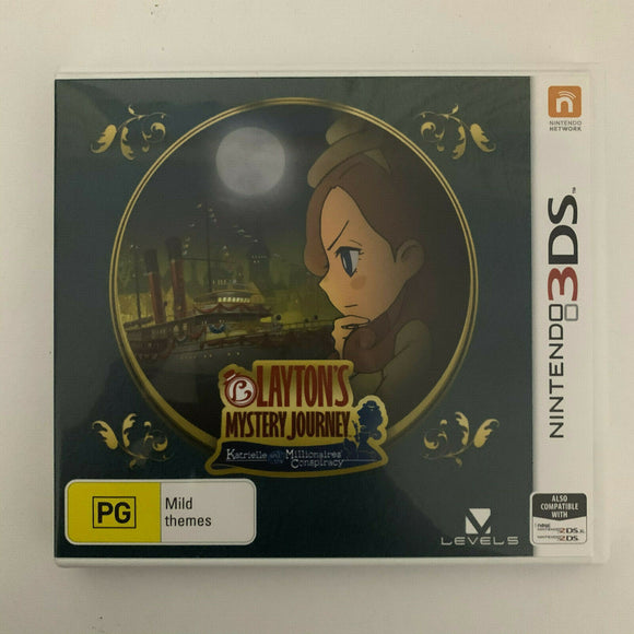 Layton's Mystery Journey Katrielle and the Millionare's Conspiracy Nintendo 3DS