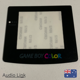 Replacement Screen Lens for Nintendo Gameboy Color Game Boy GBC Adhesived Colour