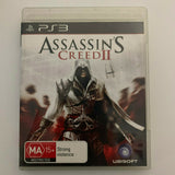 Assassin's Creed II - for Sony Playstation 3 PS3 - Case, Disc, Manual - Complete