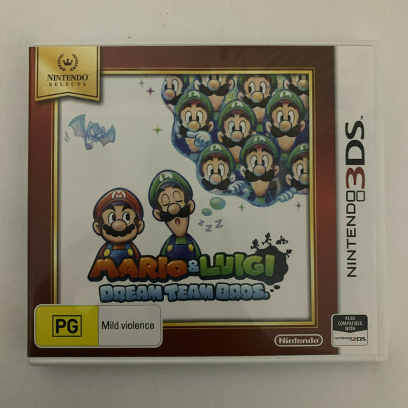 Mario & Luigi Dream Team Bros for Nintendo 3DS - Cartridge, Case & Insert