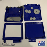 Replacement Housing Shell Kit Nintendo Gameboy Advance SP Game Boy Case Blue