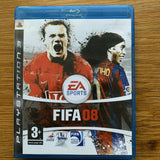 FIFA 08 for Sony Playstation 3 PS3 Disc + Case