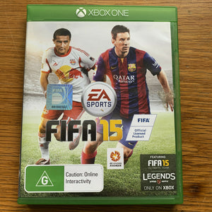 FIFA 15 for Microsoft Xbox One Video Game Complete - Disc + Case