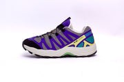 "Grimey Wear ""Planet Noire"" Blue Track Pants - Men"