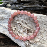 Strawberry Quartz Bracelet