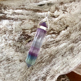 Rainbow Fluorite Pendant (Medium)