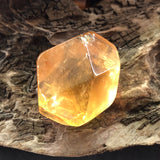 Honey Calcite Faceted Stone