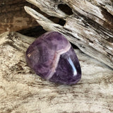 Chevron Amethyst Polished Stone