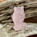 Rose Quartz Wise Owl
