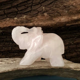 Rose Quartz Lucky Elephant
