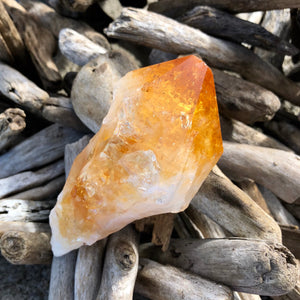 Citrine Raw Point