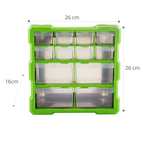 12 Drawer Tool & Fixing Storage Unit