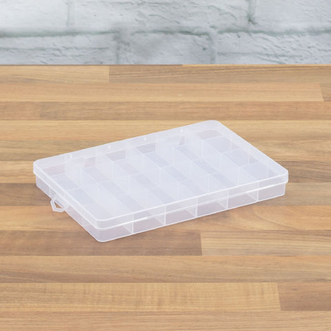 24 Compartment Tool Box Small Parts Case