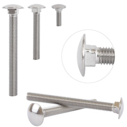 Carriage Bolt A2 Stainless Steel M8