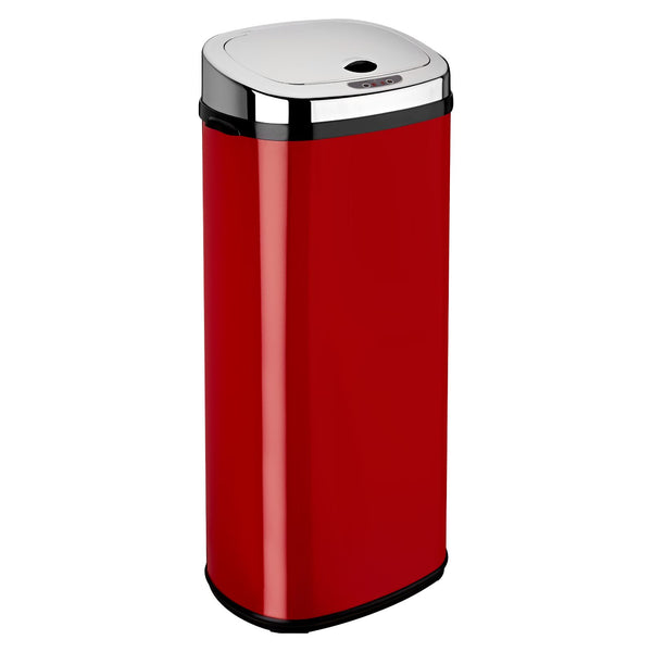 Red 50L Rectangle Origin Sensor Bin