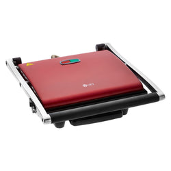 Red 4 Slice Large Sandwich Panini Grill