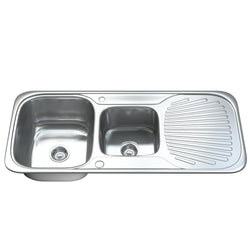 1503 1.5 Bowl Kitchen Sink with Waste