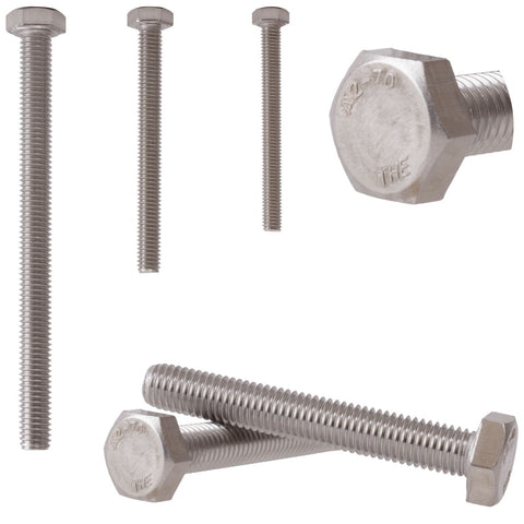 Fully Threaded Hex Bolt Hexagon Head M4