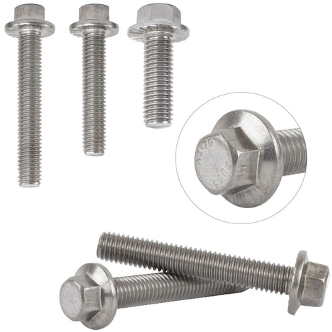 Flanged Hex Bolt A2 Stainless Steel M8