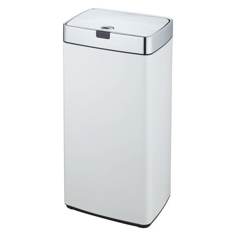 White 45L Rectangle Iris Sensor Bin