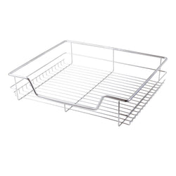 600mm Pull Out Chrome Wire Basket Drawer for Kitchen Cabinets Cupboards
