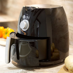 Black 4L Dial Air Fryer