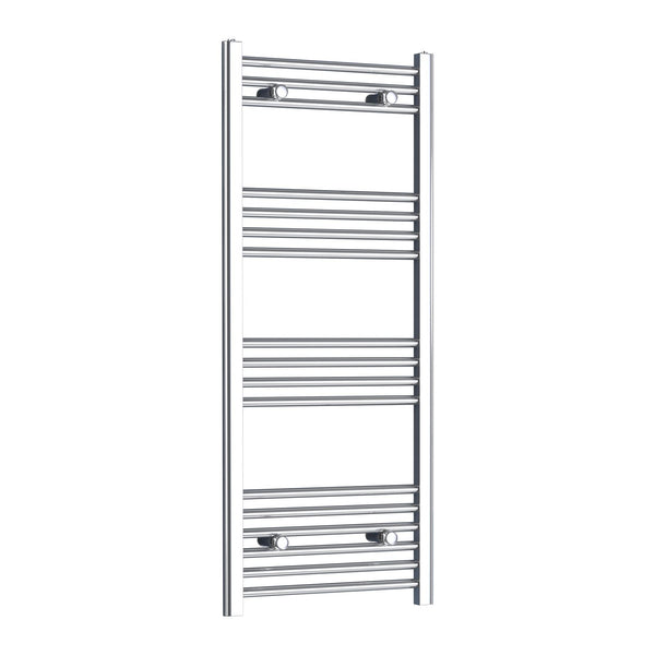 Chrome Flat Towel Radiator 600mm x 1200mm