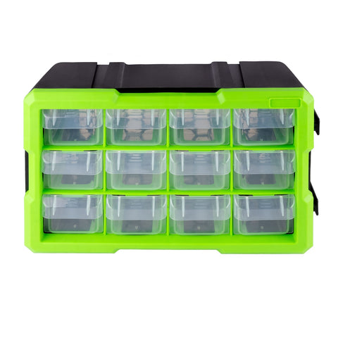 12 Drawer Interlocking Tool & Fixing Storage Unit