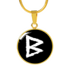 Berkano Rune Luxury Necklace