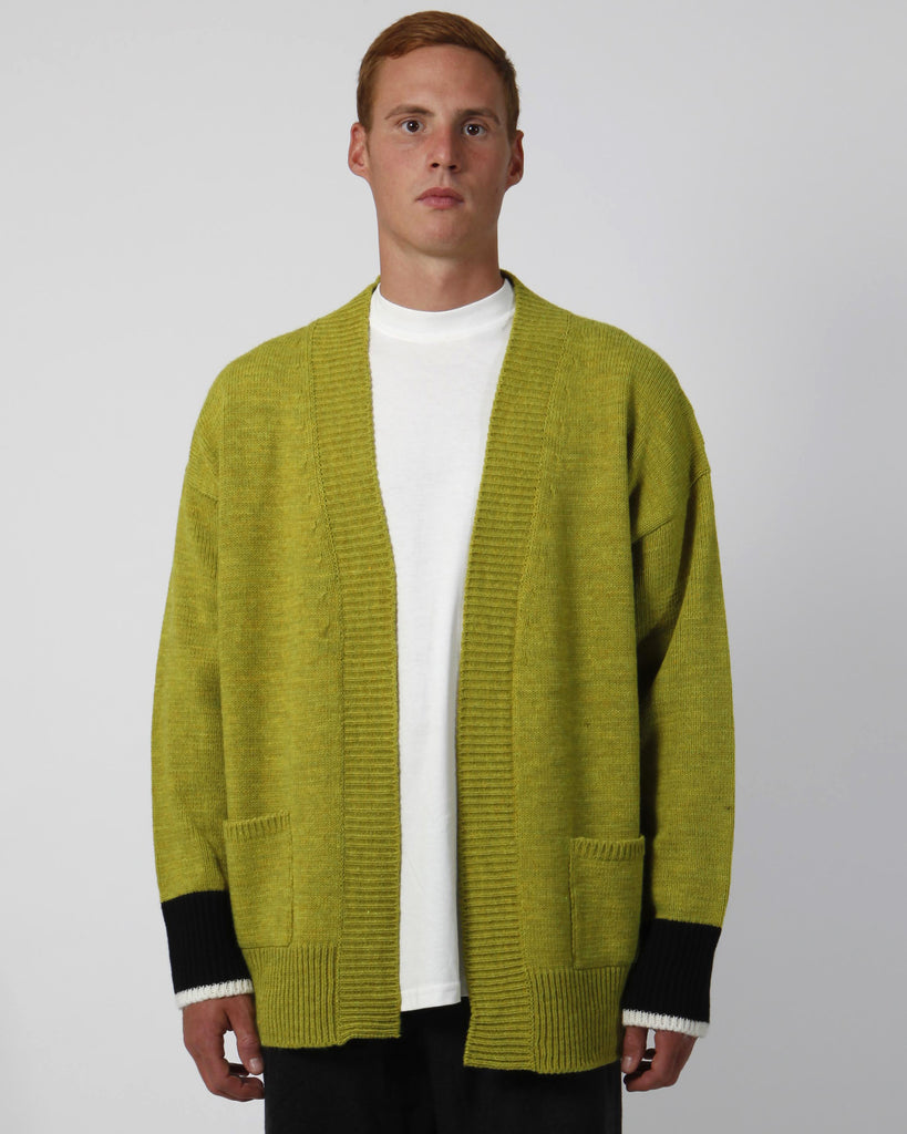 Mountain jacquard cardigan