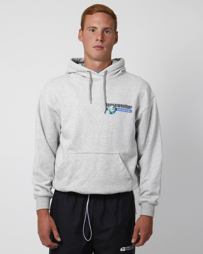 Grey discovery hoodie