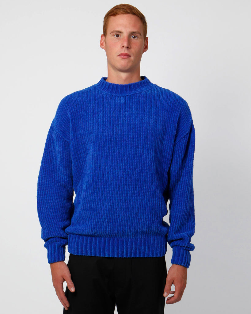 Bluette velour sweater